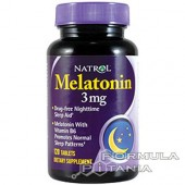 Melatonin 3 mg. 120 таб.